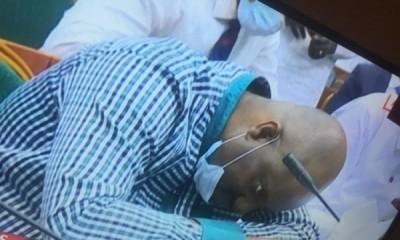 Nigeria : Un fonctionnaire perd connaissance en pleine audition parlementaire