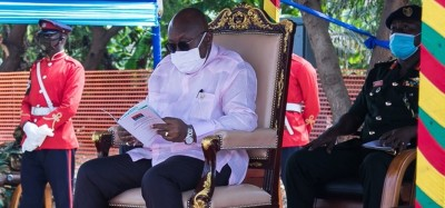 Ghana :   Covid-19, Akufo-Addo dément son évacuation au Royaume-Uni
