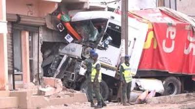 Sénégal :  Un camion fou écrase trois personnes à Dakar Yoff