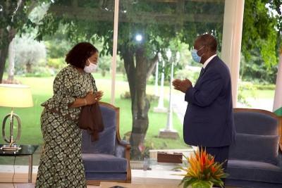 Côte d'Ivoire : Décès de Gon, une délégation ministérielle ghanéenne au chevet du Pays