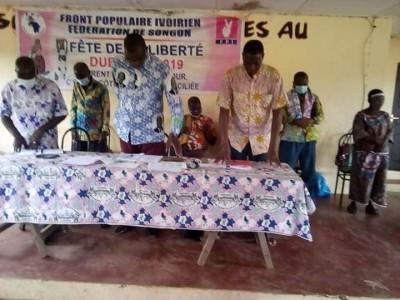 Côte d'Ivoire : FPI, à Yopougon et Songon, le parti de Gbagbo sollicite sa candidature pour le scrutin présidentiel