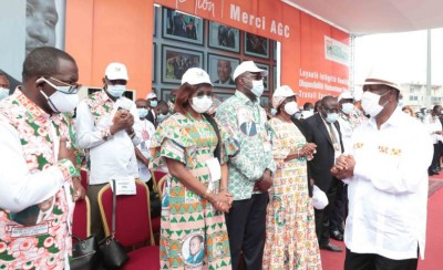 Côte d'Ivoire : Présidentielle, le RHDP met en place un comité de gestion pour les opérations de collectes  des parrainages