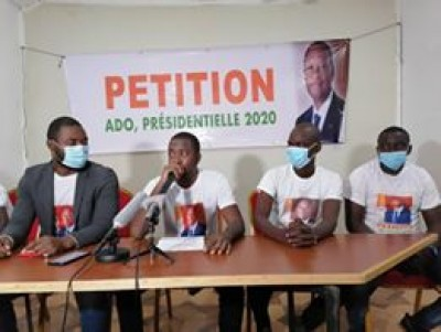 Côte d'Ivoire : Pétition ADO 2020, les initiateurs annoncent avoir recueilli, 700 mille signatures en moins d'une semaine