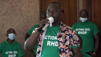 Côte d'Ivoire : Après l'incident survenu au palais de la culture, le Président du Mouvement ACTION 2020 présente ses excuses au Directeur exécutif du RHDP et à l'ensemble des militants