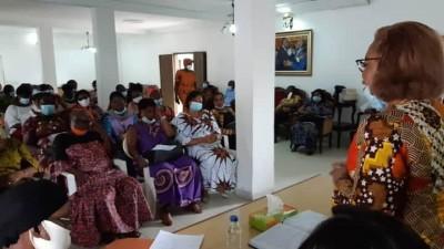 Côte d'Ivoire : Présidentielle octobre, Odette Lorougnon et des femmes de EDS s'engagent pour le retour de Gbagbo leur candidat