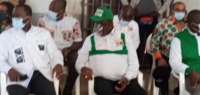 Côte d'Ivoire : Présidentielle, Legré Philippe depuis Divo :  « nous ne sommes pas pour le second tour  »