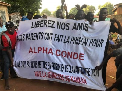 Guinée : Manifestation à Kankan, 22 manifestants «rasés» et inculpés pour troubles à l'ordre public