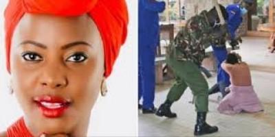 Kenya : Des policiers photographiés en train de tabasser une députée à Nairobi