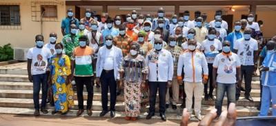 Côte d'Ivoire : Région du Bélier, des secrétaires généraux PDCI et  UDPCI et autres p...