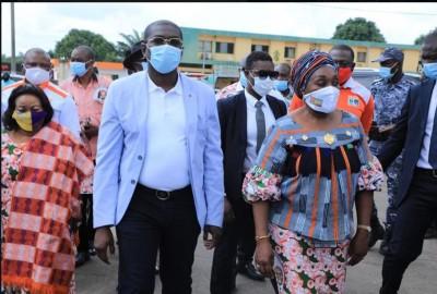 Côte d'Ivoire : Depuis Toumodi, le Ministre Anoblé Félix : « On ne confie pas le canari de Bandji à celui qui a en cassé précédemment »