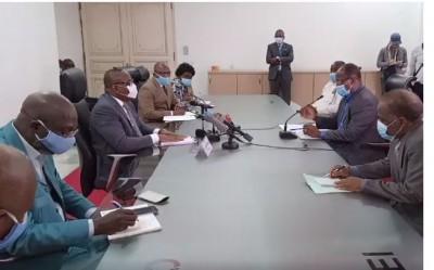 Côte d'Ivoire : Manifestation à la CEI, Kuitbiert reçoit la délégation de Ouégnin et martèle « Nous n'avons pas intérêt à retirer des Ivoiriens de la liste »