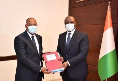 Côte d'Ivoire : Hamed Bakayoko lors de sa prise de fonction à la Primature : « La con...