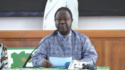 Côte d'Ivoire : La CEI à propos de l'éligibilité de Bédié à la présidentielle d'octobre prochain : «Parler du cas de Bédié, c'est apprécier son éligibilité. Or cette matière ne ressort pas de la compé