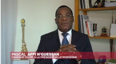 Côte d'Ivoire : Affaire de  3è mandat de Ouattara, Affi N'Guessan : « Ce serait dramatique pour  lui-même  et le peuple »