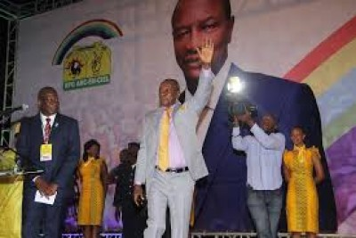 Guinée : Congrès du RPG, Alpha condé annoncé au dernier jour de la convention