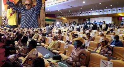 Guinée : Alpha Condé désigné candidat par son parti pour un 3ème mandat