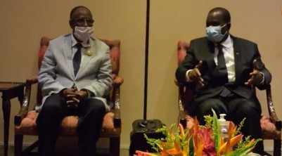 Côte d'Ivoire : Assemblée nationale, après un séjour en France, Amadou Soumahoro de r...