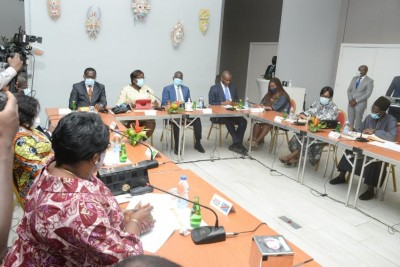 Côte d'Ivoire: Situation sociopolitique, la Direction exécutive du RHDP rencontre les...