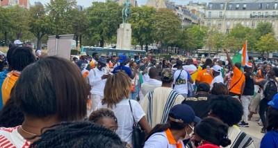 Côte d'Ivoire : Candidature de Ouattara, des ivoiriens manifestent à Paris, Affoussia...