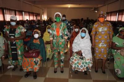 Côte d'Ivoire : Candidature d'Ado, depuis Dimbokro, Ly Ramata satisfaite des actions des femmes reste confiante pour la victoire du Rhdp