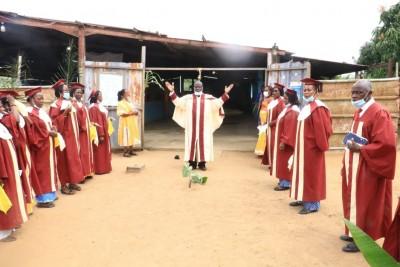 Côte d'Ivoire :  Niangon Attié, des chrétiens du temple Ephrata prient pour le Liban après les explosions de Beyrouth