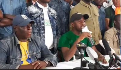 Côte d'Ivoire : Candidature de Ouattara, les jeunes de l'opposition appellent à des marches éclatées le jeudi prochain pour soutenir la société civile