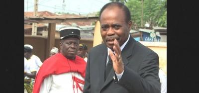 Togo :   Dernier retour d'Edem Kodjo à Lomé pour la terre