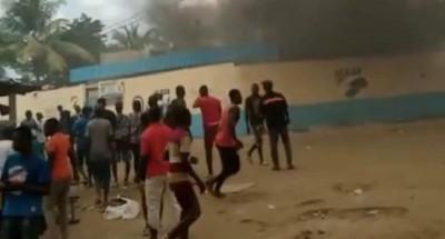 Côte d'Ivoire : La  protestation contre la candidature de Ouattara dégénère  à Bonoua, le commissariat attaqué