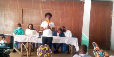 Côte d'Ivoire : Interpellée, Pulchérie Gbalet auditionnée avec ses camarades à la préfecture de police d'Abidjan