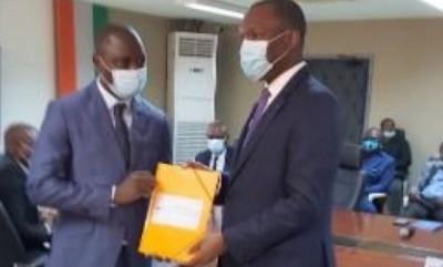 Côte d'Ivoire : FIF, Sory Diabaté au  Ministre Mamadou Touré : « Beaucoup de choses ont été dites sur la fédération par manque d'informations »
