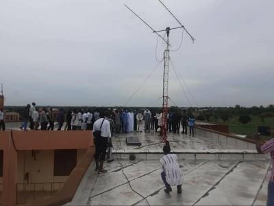 Burkina Faso : Inauguration de la première station satellitaire