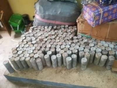 Cameroun : Au Nord du pays, une saisie record de 2 tonnes d'Engins Explosifs Improvisés