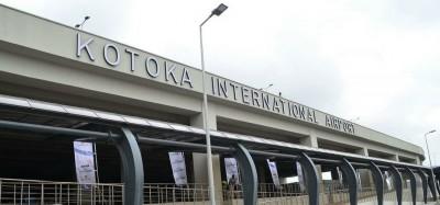 Ghana :  Aéroport, reprise des vols le 1er septembre, conditions