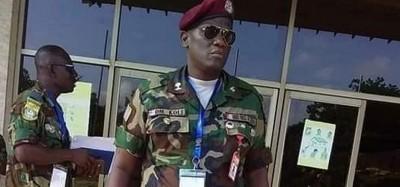 Liberia :  Décès d'un Officier des AFL en poste à la Commission de la CEDEAO