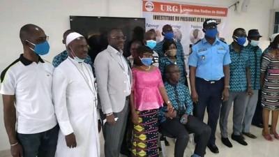 Côte d'Ivoire : Bouaké, investi président de l'URG, Alex Yao, « nous sommes prêts à aider les promoteurs de la paix...»