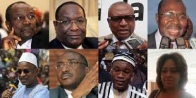 Guinée : Liste des 13 prétendants à la présidentielle du 18  Octobre