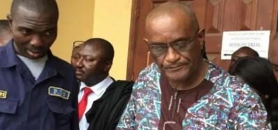 Liberia : 500 millions F CFa disparus sur les comptes bancaires du fils de Sirleaf, d...