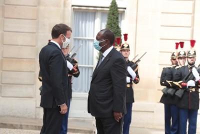 Côte d'Ivoire : Ouattara à propos de sa rencontre avec Macron :  «  Nous devons faire confiance à nos institutions et arrêter de penser que les décisions doivent être prises à Paris ou à New-York »