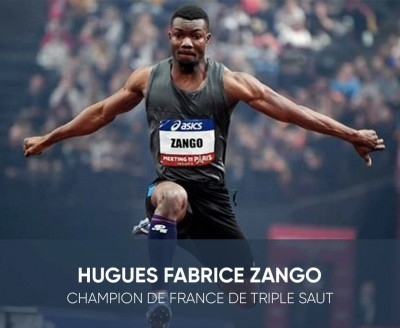 Burkina Faso : Fabrice Zango champion de France au triple saut