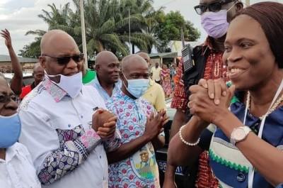 Côte d'Ivoire : A Divo et Gagnoa, Simone Gbagbo apporte son soutien aux manifestations «Quand le peuple n'est pas d'accord, il a le droit de descendre dans la rue »