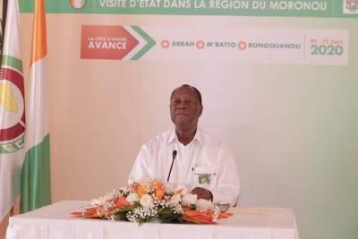 Côte d'Ivoire:    Visite d'État dans le Moronou, l'intégralité de la conférence de presse du chef de l'État