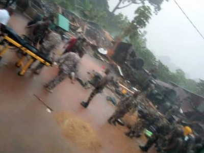 Côte d'Ivoire :  Visite d'État dans le Moronou 2 militaires périssent dans un accident de circulation à Abongoua