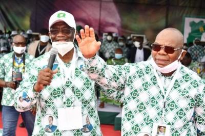 Côte d'Ivoire : Investiture de Bédié à Yamoussoukro, Guikahué présente Clément Nabo, ancien maire, ministre et actuel sénateur RHDP comme la nouvelle recrue du président du PDCI