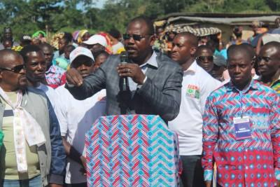 Côte d'Ivoire : À l'Ouest et au Sud-Ouest, Dely Mamadou efface les traces de l'UDPCI et mobilise pour le RHDP