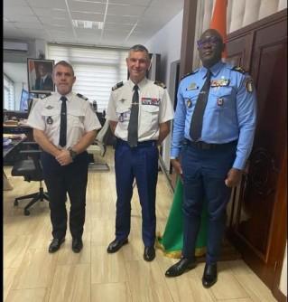 Côte d'Ivoire-France : Le  nouvel Attaché de Sécurité Intérieure de la France prend contact avec le DG de la police