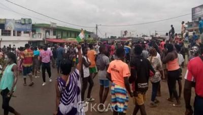 Côte d'Ivoire : Après la décision du Conseil constitutionnel, manifestation à Bonoua, alerte à Bangolo
