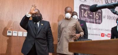 Ghana : Akufo-Addo réitère son engagement pour deux mandats