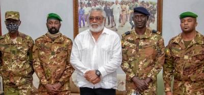 Mali :  Rawlings aux militaires du CNSP « faites entrer le Mali dans une ère prospère »
