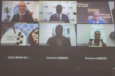 Côte d'Ivoire : Lancement de la bourse en ligne, communiqué de la BRVM