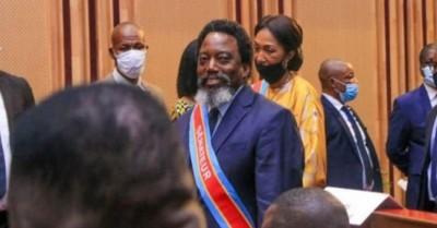 RDC: Joseph Kabila fait une brève apparition en tant que « sénateur à vie » au sénat